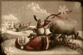 Lapin de Noël