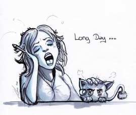Loomi's Life - Longue journée